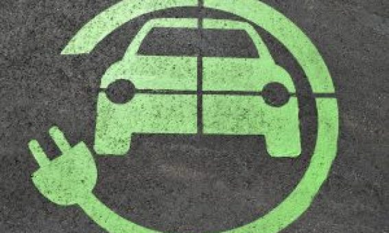 Electric Charge Car Logo
