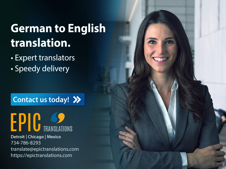 Translate German to English to Compete Abroad