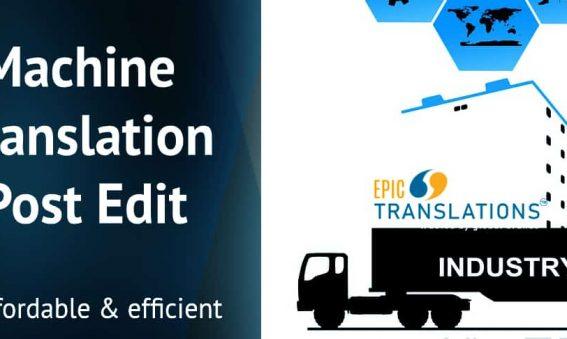 machine translation post edit epic translations
