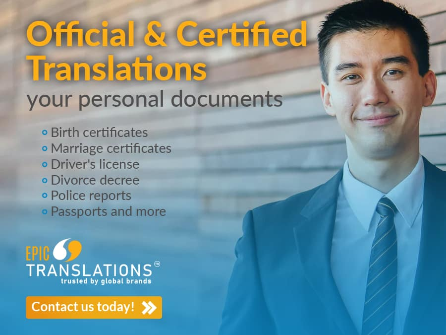 Certified translation service Michigan Spanish to English translation Birth certificate translation