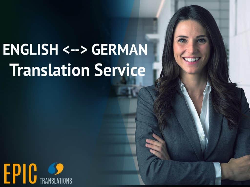 German translation service EPIC Translations Michigan