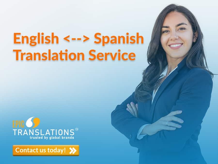Spanish translation service EPIC Translations Michigan