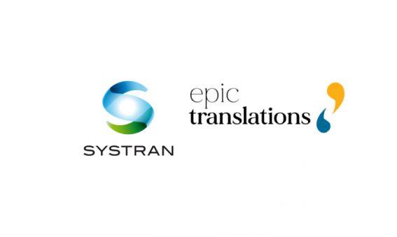 SysTran and EPIC Translations AI based machine translation tool partnership